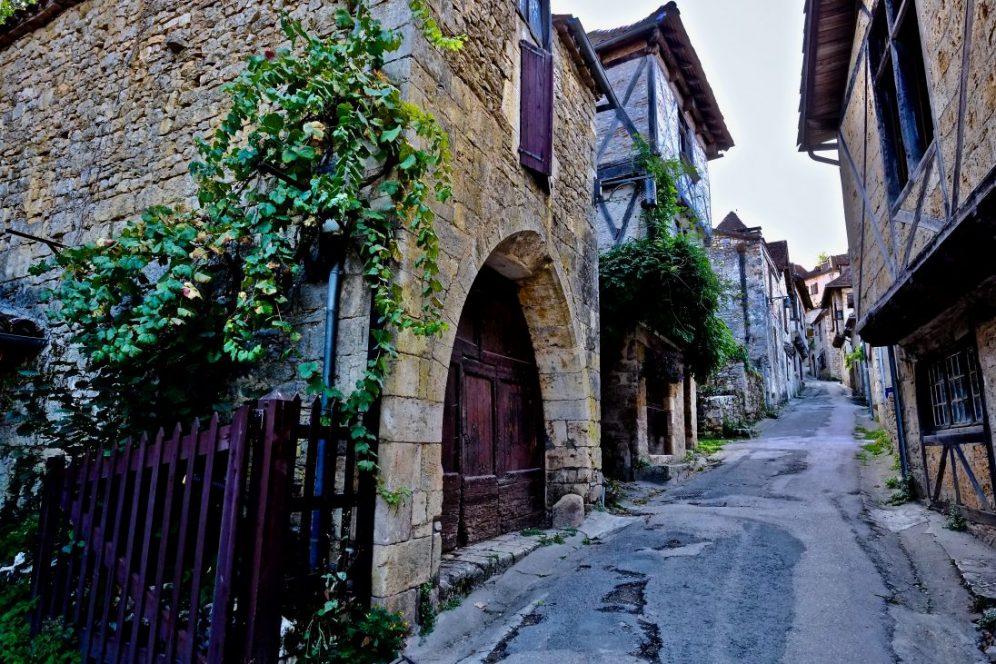 Saint-Cirq Lapopie l'un des plus beaux villages de France