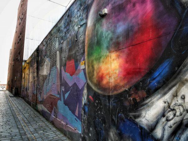 Les murs colorés de Glasgow