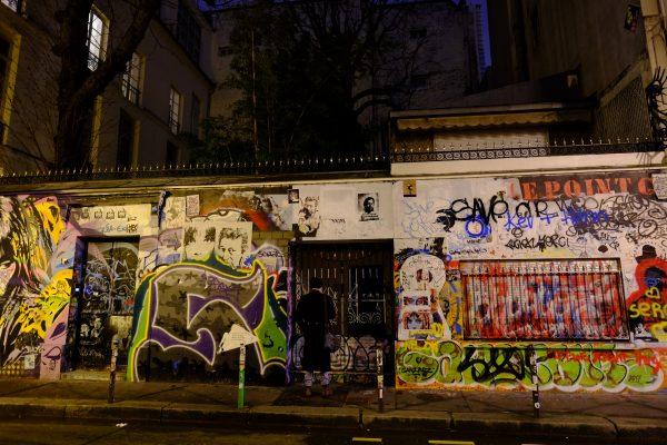 L'un des meilleurs spot de street art de Paris