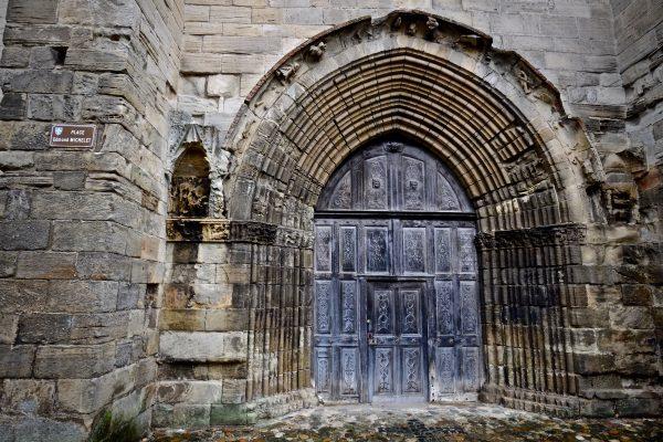 L'abbatiale Saint-Sauveur