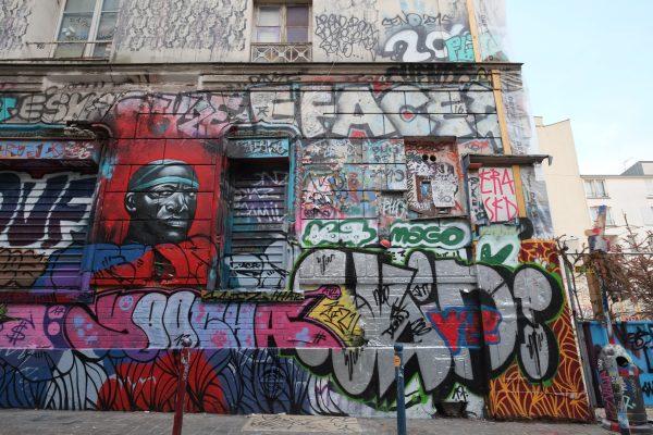 Les meilleurs spot de street art de Paris