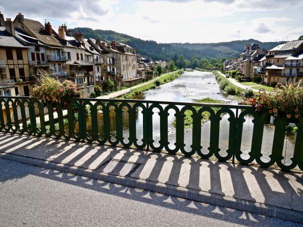 La vallée du Lot dans l'Aveyron