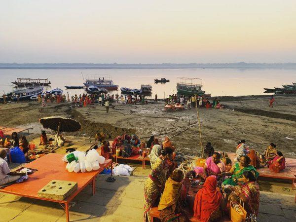 Bénarès une des plus belles villes en Inde