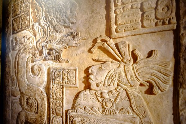 L'écriture Maya est l'une des écritures les plus anciennes du monde