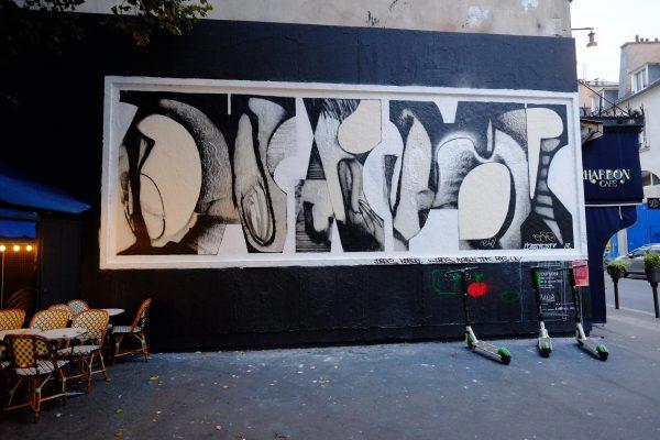 L'un des meilleurs spots de street art  à Paris