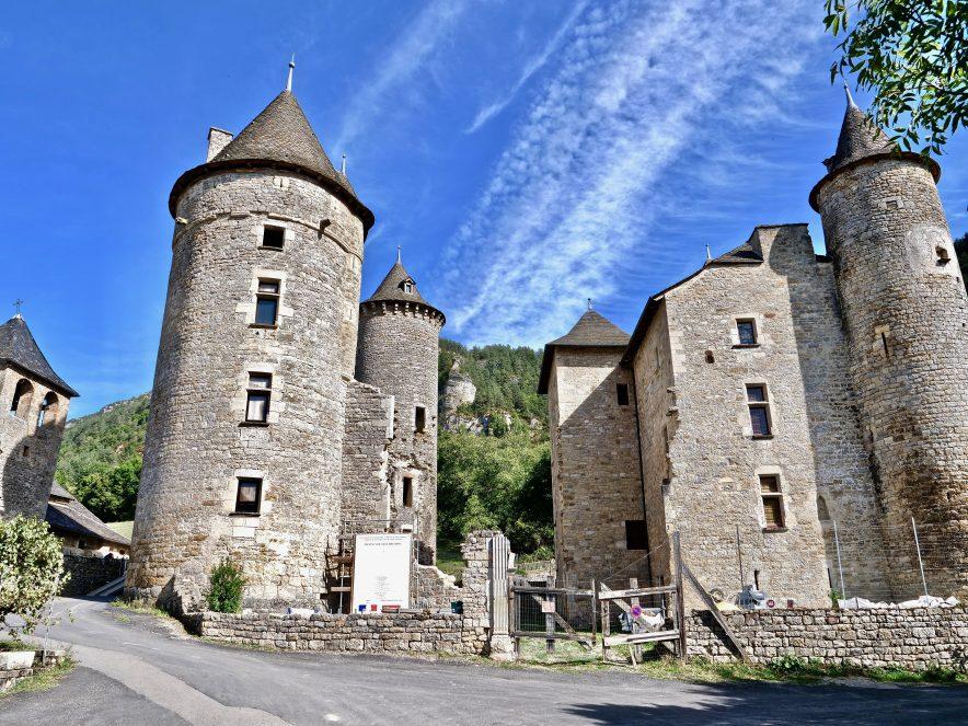 Un sublime château en Lozère