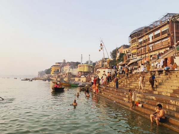 Bénarès et les bords du Gange