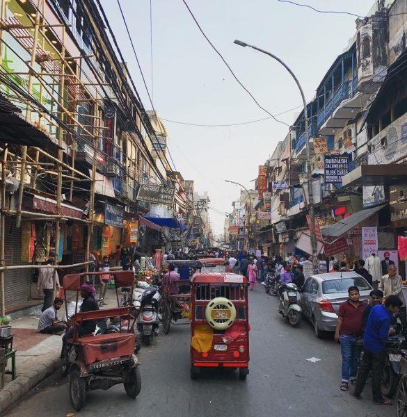 New Dehli, lune des plus grandes villes du monde