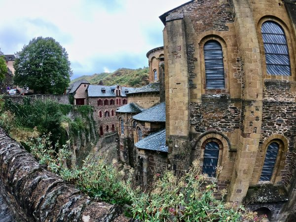 Conques l'un des plus beaux villages de France