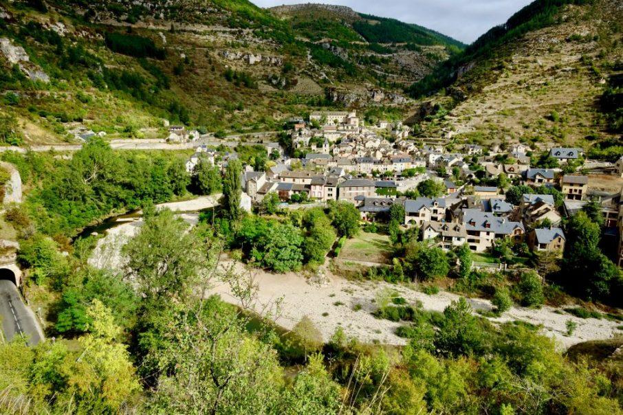 Sainte-Enimie dans la Lozère