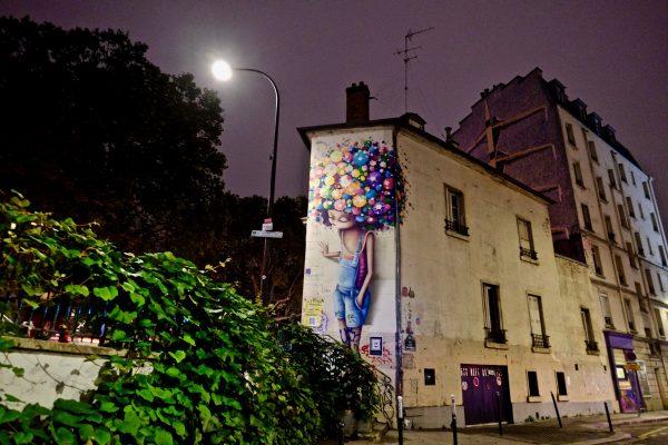 Street art le long du canal