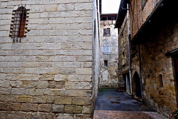Une rue médiévale à Figeac