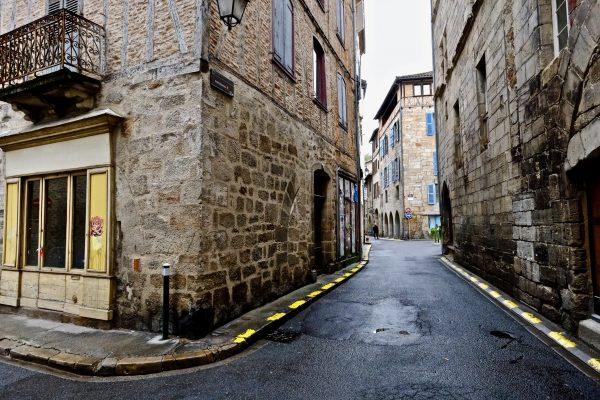 Dans les rues de Figeac