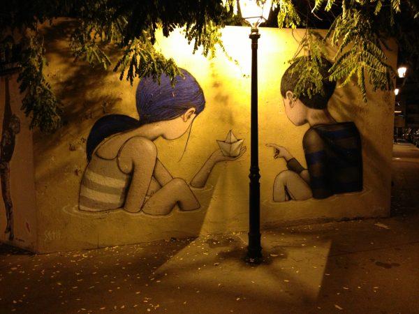 La butte aux cailles un des meilleurs spots pour le street art