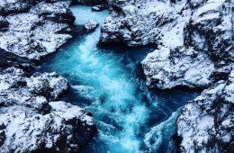 Barnafoss, l'une des plus belles cascades d'Islande