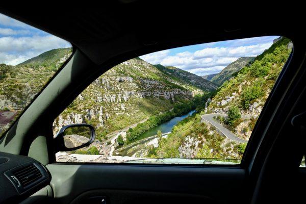 La D43 l'une des plus belles routes du Tarn