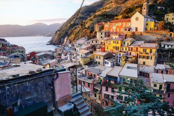 Vernazza un des plus beaux villages d'Europe