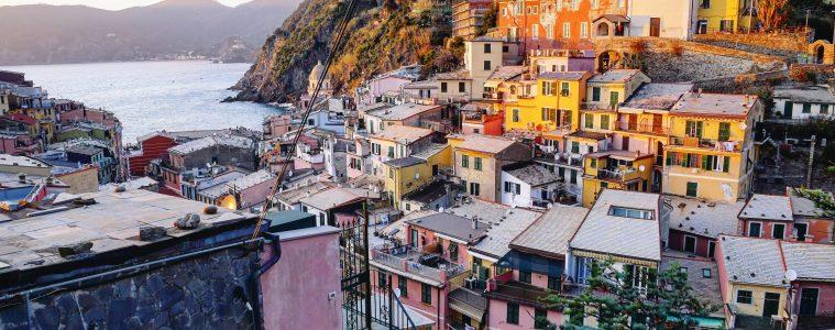 Vernazza un des plus beaux villages d'Europe