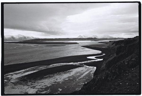 Vue depuis l'est de la péninsule de Vatnsnes