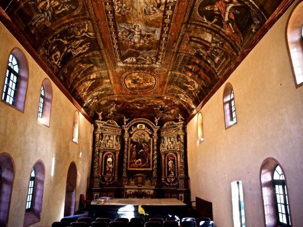 La chapelle des pénitents à Saint-Geniez d'Olt et d'Aubrac