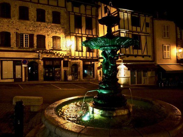 Saint-Geniez d'Olt la nuit