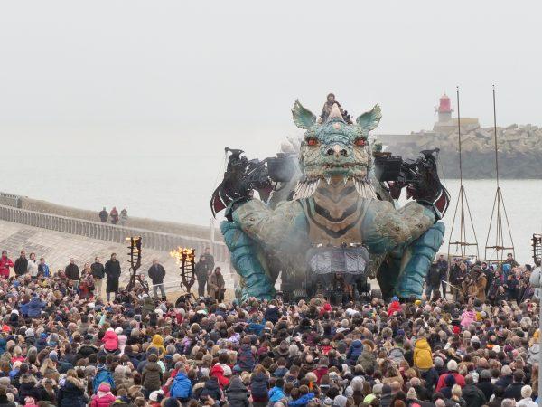 Le dragon au réveil le 1er novembre