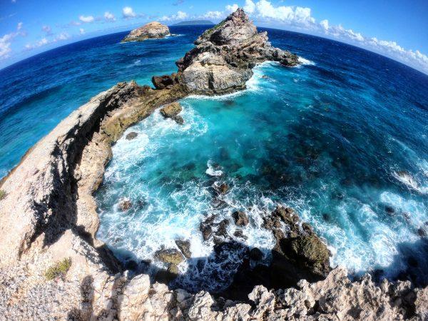 Une vue à couper le souffle à l'ouest de l'île