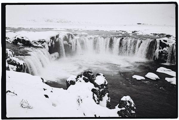 La splendide chute de Godafoss dans le nord de l'Islande
