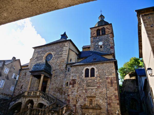 L'église paroissiale de Saint Geniez d'Olt