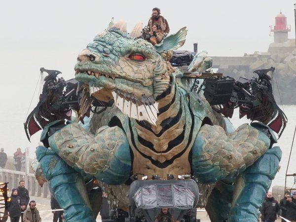 Le dragon en un chiffre c'est 15 mètres de hauteur maximale