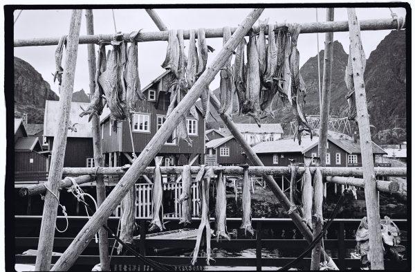 Un petit village de pêcheurs norvégien