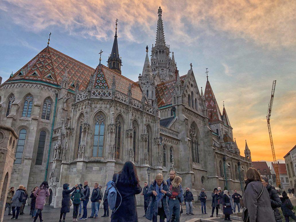 L'église Saint-Mathias à Budapest