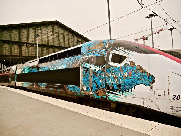 En route pour le Dragon de Calais