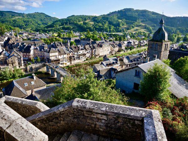Saint-Geniez d'Olt l'une des plus belles villes d'Aveyron