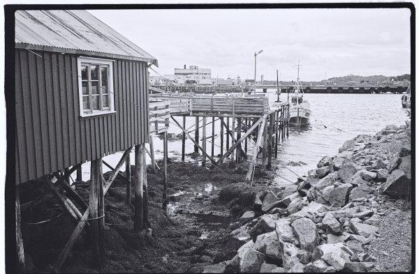 Les Lofoten photographiées en noir et blanc