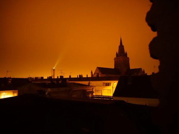 Calais la nuit