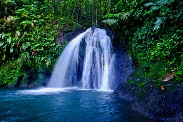 La cascade aux écrevisses dans le parc naturel