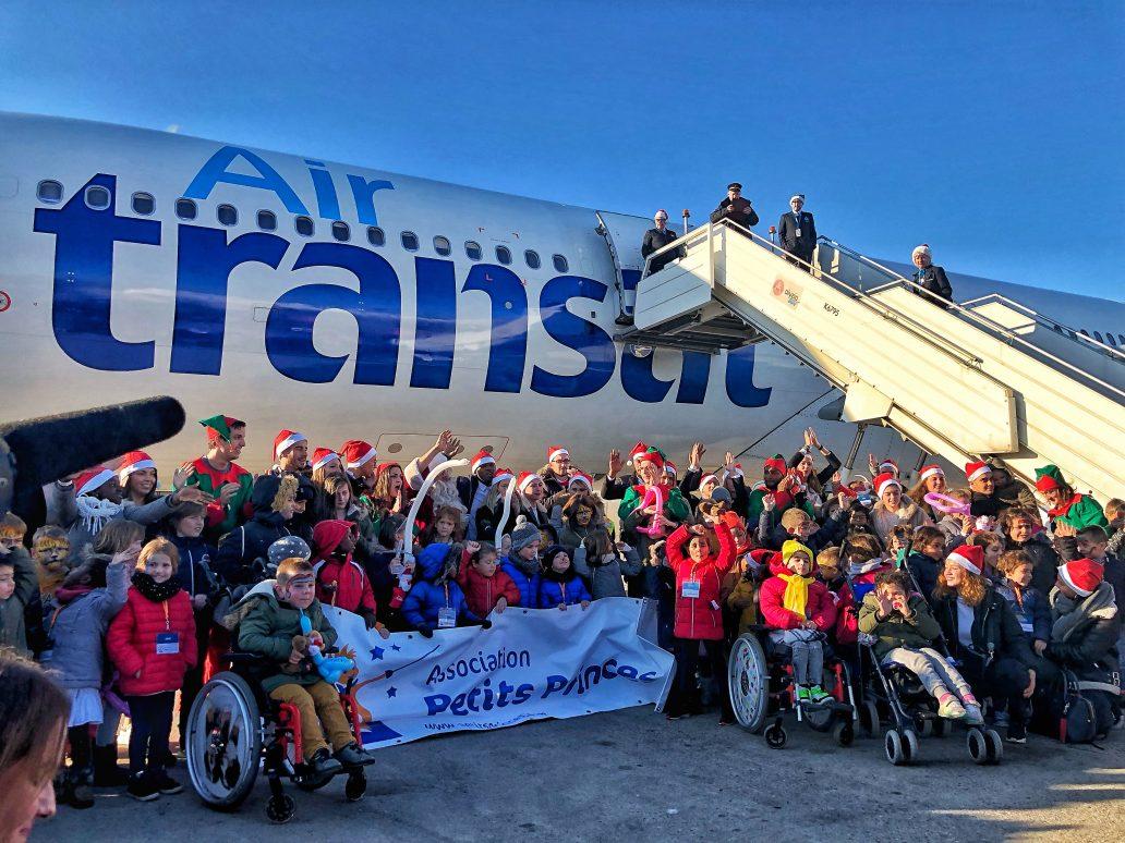 A la recherche du Père Noël avec Air Transat