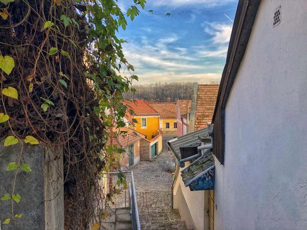 Une vue depuis les hauteurs de Szentendre