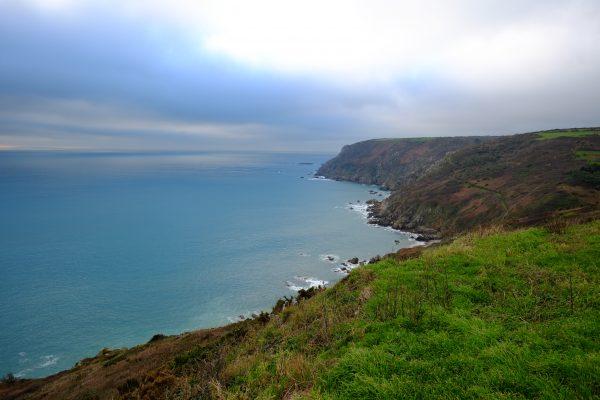 La route des Caps dans le nord ouest du Cotentin