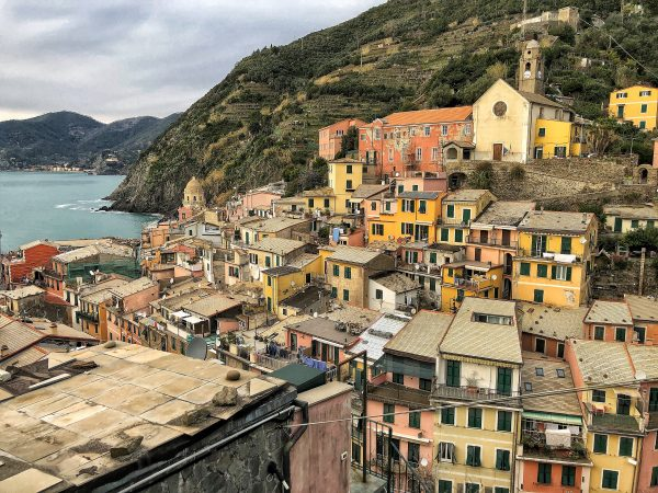 Vernazza un petit village du nord de l'Italie