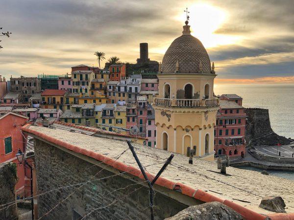 Vernazza le plus beau village de toute l'Italie