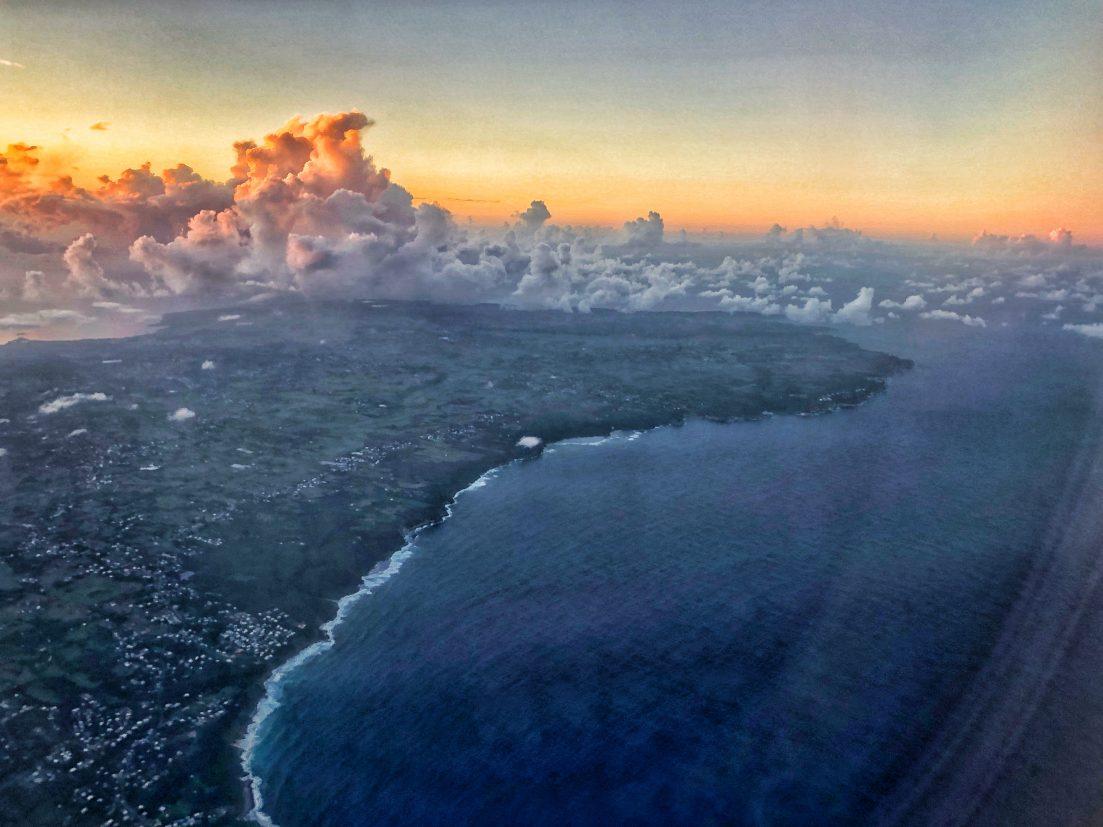 La Guadeloupe au Crépuscule