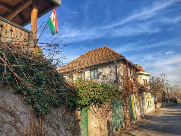 Dans les rues de Szentendre en Hongrie