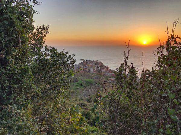 Corniglia un village perché d'Italie du nord