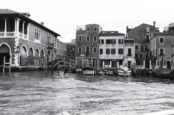 Venise en noir et blanc