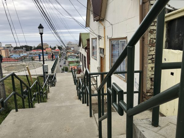 Panorama sur Punta Arenas