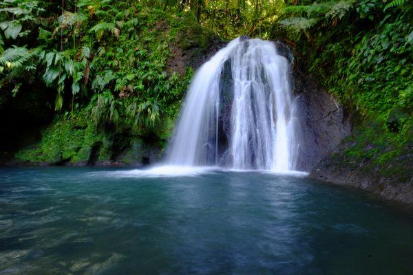 Une cascade en Guadeloupe