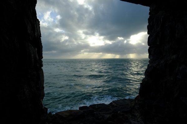 La mer Méditerranée vue depuis Porto Venere