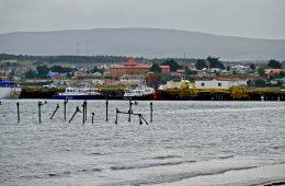 Le port et la ville de Punta Arenas